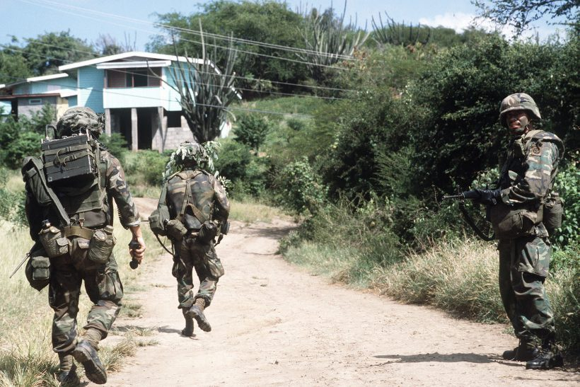 Американские причины вторжения в Гренаду