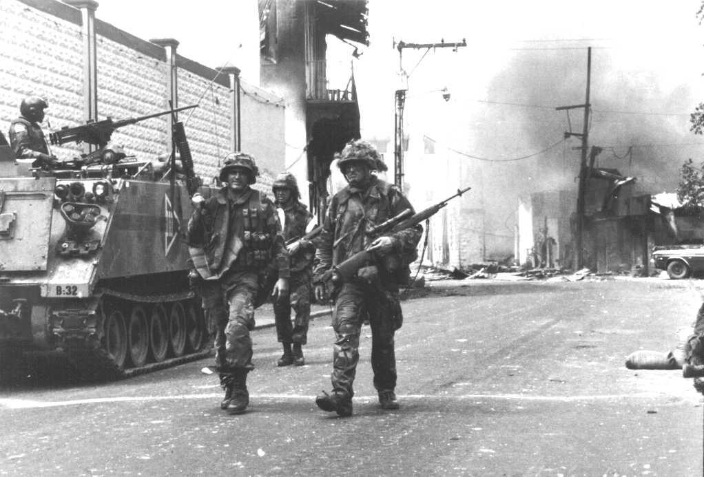 Причины введения войск США в Панаму