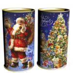 Новогодняя упаковка для корпоративных сладких подарков к Новому году