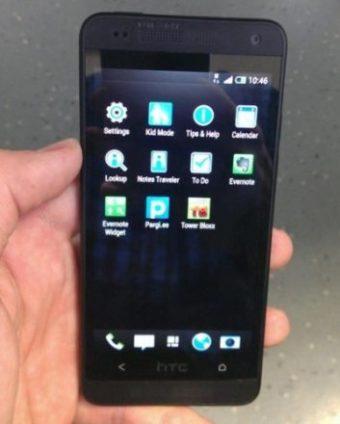 Фотографии прототипа HTC M4